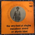 OTEGHE MELODIOUS SOUND LP the very best NIGERIA mp3 LISTEN