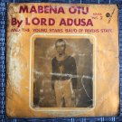 LORD ADUSA & THE YOUNG STARS LP mabena otu vol. 2 NIGERIA HIGHLIFE mp3 LISTEN
