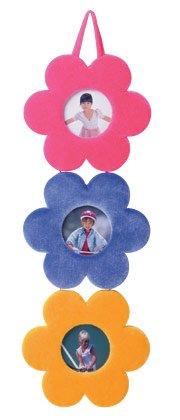 Plush Flower Hanging Frames