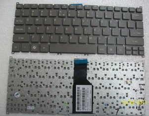 New Acer Aspire S3 S3-391 S3-951 S5-391 US Grey gray Ultrabook Keyboard