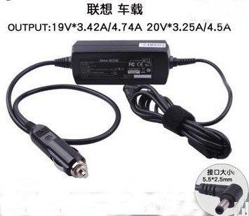19V 3.42A 4.74A /20V 3.25A 4.5A DC Power Car Charger For Lenovo F41 30 31 U350 E360