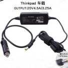 20V 4.5A / 3.25A DC Power Car Charger For IBM Thinkpad R61 T500 T61 R60 T60P Free Shipping