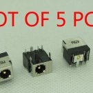 LOT OF 5 DC POWER JACK SOCKET CHARGING PORT FOR HP 610 620 625 320 420 425 325
