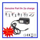 9V 2A Universal AC DC Power Supply Adapter Wall Charger Replace For LG DP382 Portable DVD Player