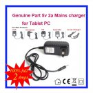 5V 2A Universal AC DC Power Supply Adapter Wall Charger For Cambridge Sciences Starpad 9 Tablet PC