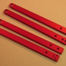 Exiled Cutlery CYCLONE Solid Red Aluminum Handles