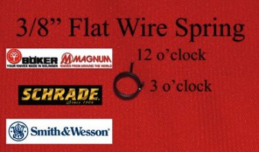 3/8 Flat Wire Coil Spring Boker, Schrade, & Smith & Wesson SMALL MODELS