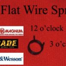 7/16 Flat Wire Coil Spring Boker & Smith & Wesson LARGE MODELS