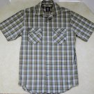 Men's Green Plaid Casual Shirt by Timberland Size S Gently Used Nice Blue Black