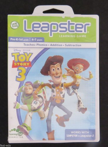 Leap Frog Leapster Toy Story Pixar Learning Game K-1st Grade 4-7 years Leapster2