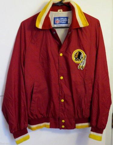 Vintage Washington Redskins STAHL-URBAN Jacket Medium M Button 1970s? 80s? NFL