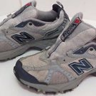 Womens NEW BALANCE 461 Size 9 Gray Teal Running Training Athletic Shoes WT461GB