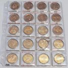 x18 President & First Lady Lot 18 Commemorative Token Coins Clinton Bush Set