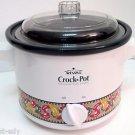 Rival Stoneware #3122  2 Quart Crock Pot Slow Cooker