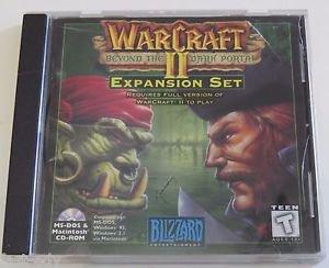 Warcraft II 2 Beyond the Dark Portal Expansion Set 1996 Blizzard DOS MAC PC Game
