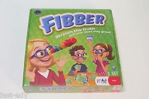 Fibber Board Game by Spin Master Age 7+ Brand New Sealed Box