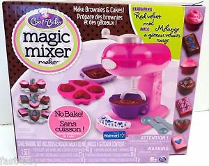 Cool Baker Magic Mixer Maker Pink Red Velvet Cake Brownie Kids Playset 6/2017 NW