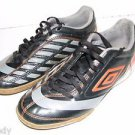 Umbro Boys 6 Orange Black Gray Lace Soccer Indoor Sport Youth