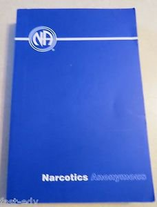 Narcotics Anonymous (2008, Paperback) Blue NA AA Book Softcover FREE Shipping!