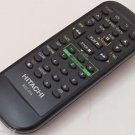 Hitachi RCU-05A VCR Remote Control Black