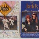 Lot 2 VHS The Judds Final Concert + Across the Heartland WYNONNA NAOMI JUDD