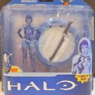 Cortana Halo 3 X Anniversary Series Action Figure McFarlane Toys Light Up/Plaque
