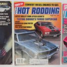 x3 HOT ROD RODDING Magazine Mar 1984 Aug 84 Feb 1991 Camaro Dodge Funny