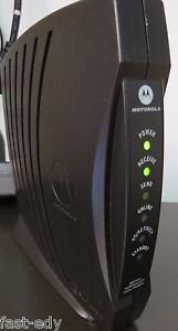 Motorola SB5101 Surfboard Cable Modem (No AC Adapter) Tested & Works