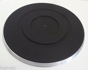 ONKYO 24502159 Turntable Metal Platter Plate Rubber Mat 18 Top For CP-1033A