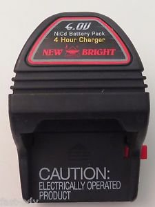 New Bright 6.0V NiCd Battery Charger 4 Hour Quick Charger! #A519201194