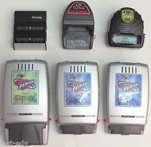 Lot 6 Battery Chargers Tyco RC  30 Min Flash Charge TMH 6.0V 4.8V NiMH 6.0V