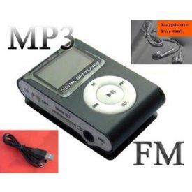 A.E Electronics LCD Player Mini 4 GB MP3 Player * Black