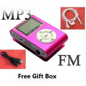 A.E Electronics LCD Player Mini 4 GB MP3 Player * Pink