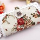 Glambags Anna Sui Rosa multiflora series cotton&PU purse