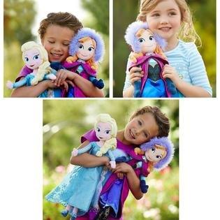 Frozen Elsa Anna Plush Doll Gift Set 2 DOLLS  Gift Set*SALE*