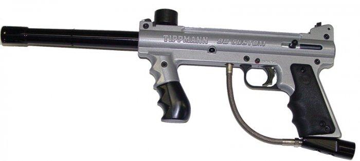 Tippmann Custom 98 Silver ACT
