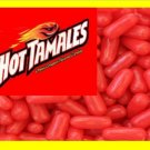 9 lbs Hot Tamales Bulk Candy FREE Labels & Shipping