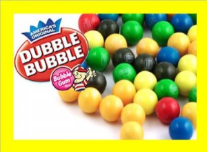 """6.5 lbs1/2"""" Gumballs 1350 ct. Candy FREE Labels & Ship"""