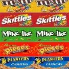 4  Self Stick UTURN Vending candy labels X