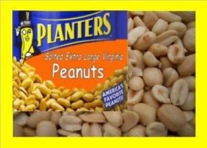 6.5 lbs. Planters Peanuts Bulk Candy FREE Labels & Ship