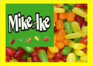 9 lbs Mike & Ike Bulk Candy FREE Labels & Shipping
