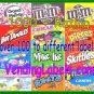 20 Heavy Duty Laminated 1 x 2  Vending Labels