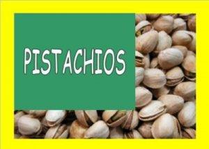 8 lbs. PISTACIOS Bulk Candy FREE Labels & Ship