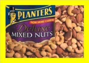7 lbs. Planters mix nuts Bulk Candy FREE Labels & Ship