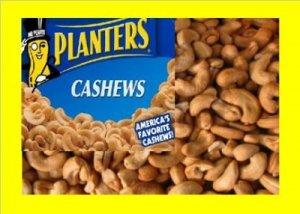 4.6 lbs.Cashews Bulk Candy FREE Labels & Ship