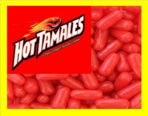 13.5 lbs Hot Tamales Bulk Candy FREE Labels & Shipping