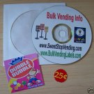 Bulk Vending CD * Vendstar *plus Bonus FREE label +