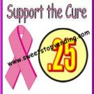 10 SUPPORT THE CURE Breast Cancer Price sticker vending