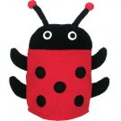 Lady Bug Bath Mitt