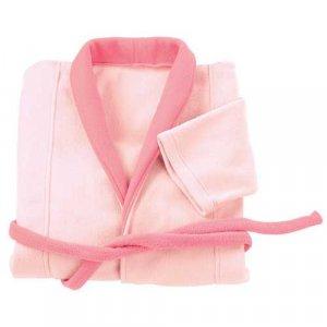 Pink Cozy Fleece Robe